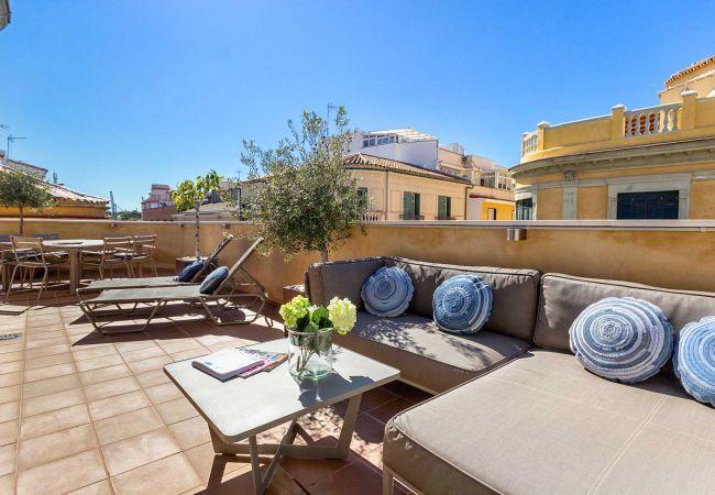 in Málaga - Kim - Holiday penthouse in Malaga