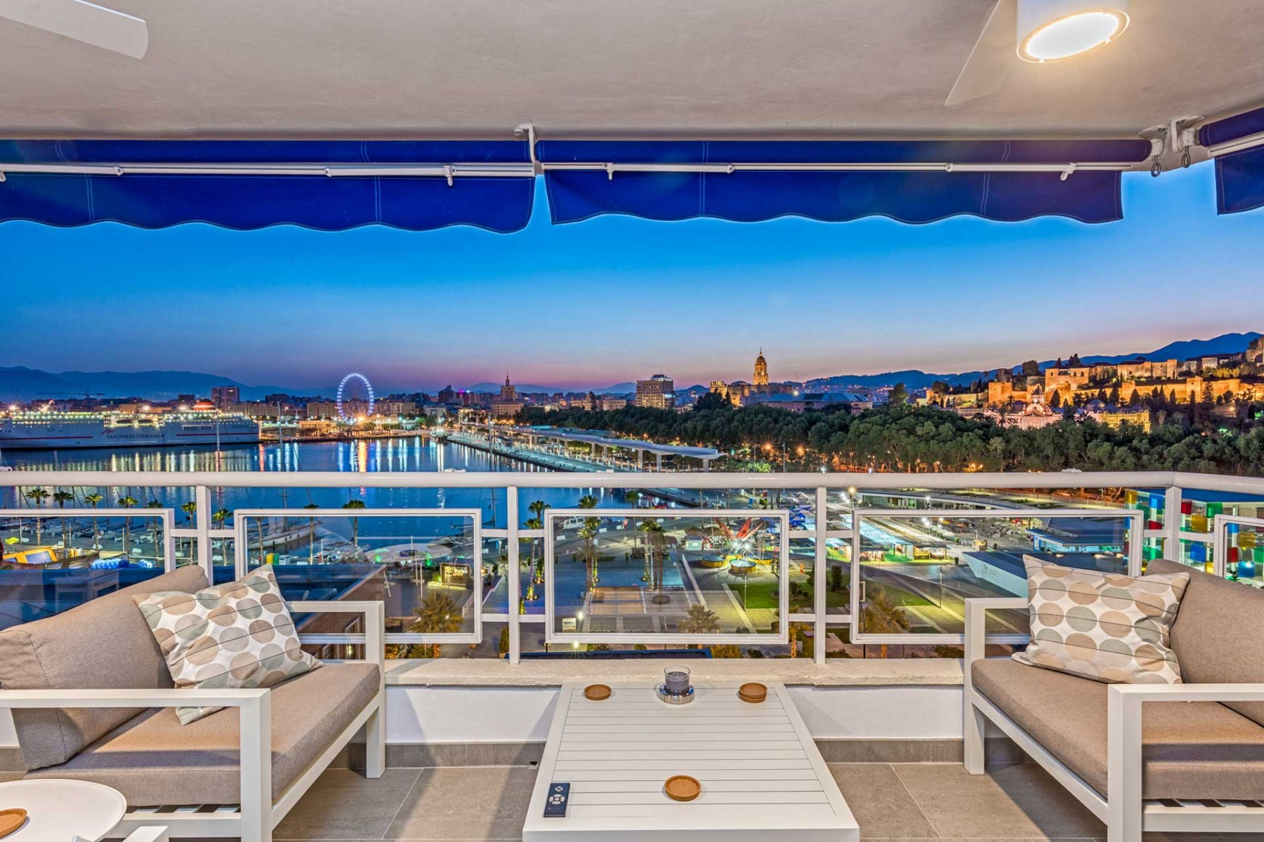 Great Stunning Penthouse With Breathtaking Views Over Malaga