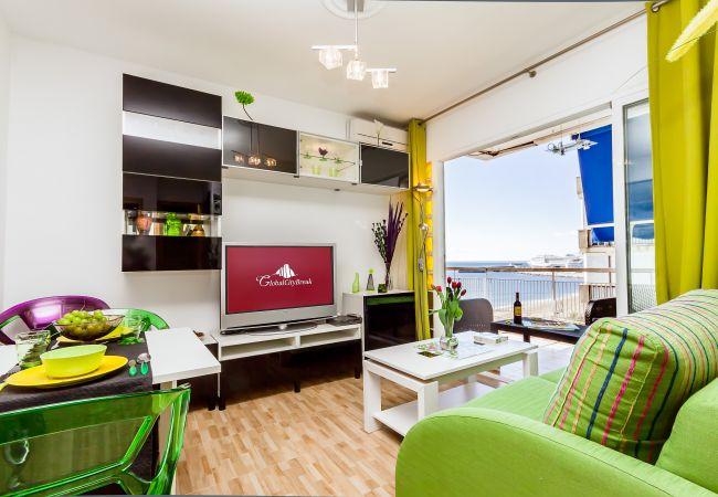 in Málaga - Casilari - Beach apartment in Malaga