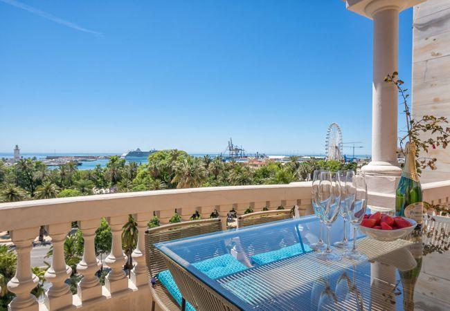 in Málaga - Veletta - holiday penthouse in Malaga