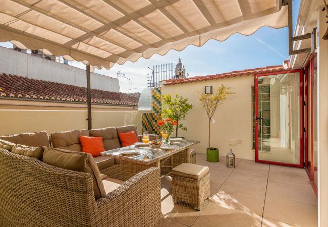in Málaga - Emma - Holiday penthouse in Malaga