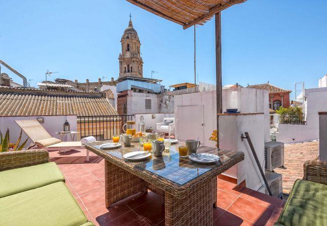 in Málaga - Siglo - Holiday penthouse in Malaga