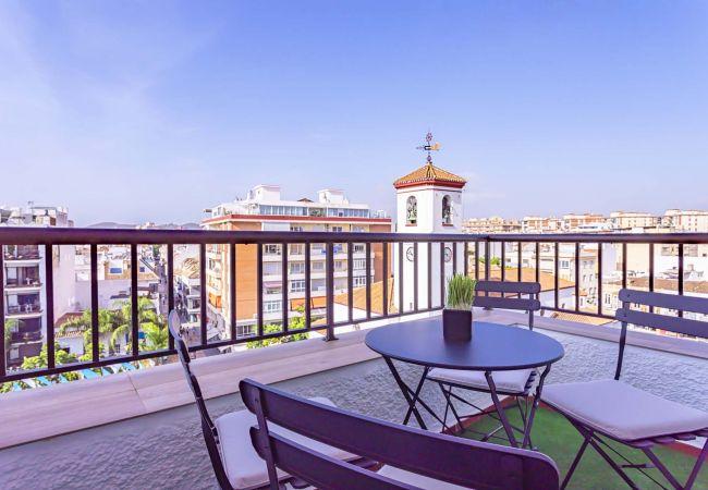 in Fuengirola -  Elena - Holiday penthouse in Fuengirola