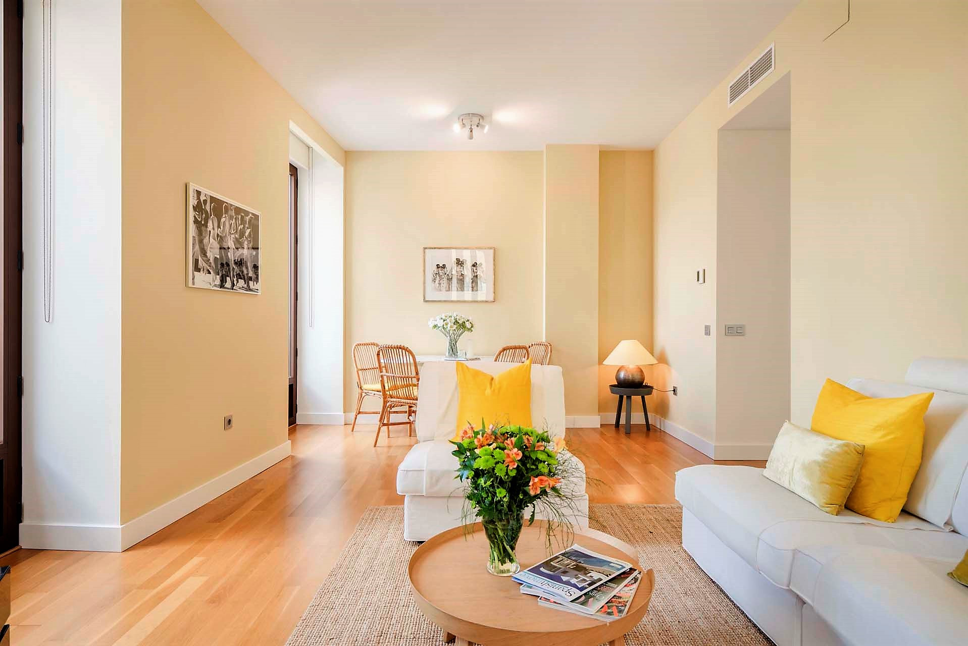Amazing two-bedroom luxury apartment in Malaga city centre