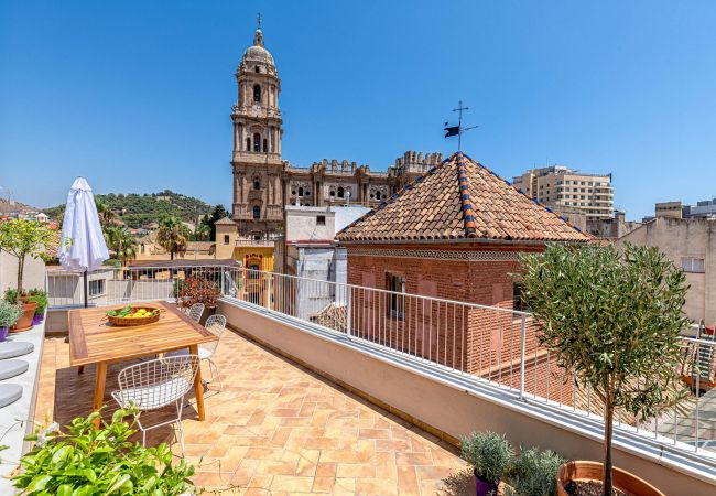 in Málaga - Laurel - stunning penthouse in front of Malaga Cathedral